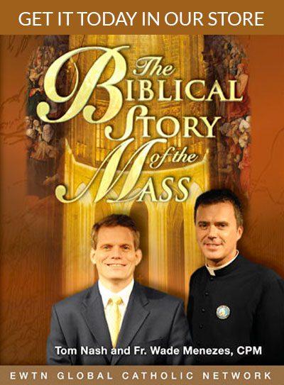 Biblical Story of the Mass DVD